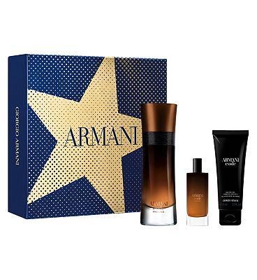 Armani Code Profumo 60ml Eau de Parfum Mens Aftershave Gift Set
