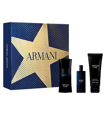 Armani Code Homme 50ml Eau de Toilette Mens Aftershave Gift Set