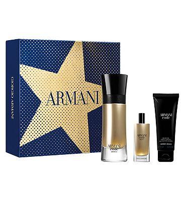 Armani Code Absolu 60ml Eau de Parfum Mens Aftershave Gift Set