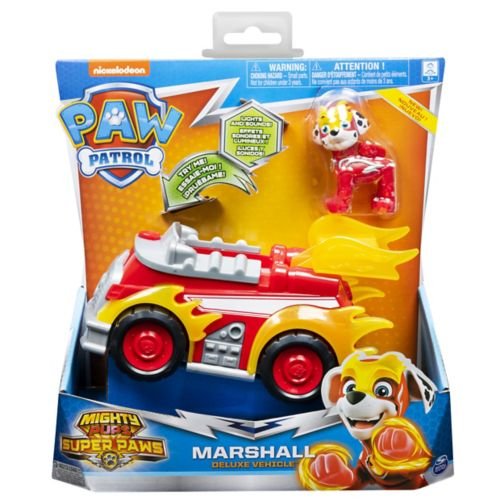 MIGHTY PUPS SUPERPAWS Themed Vehicle - Marshall