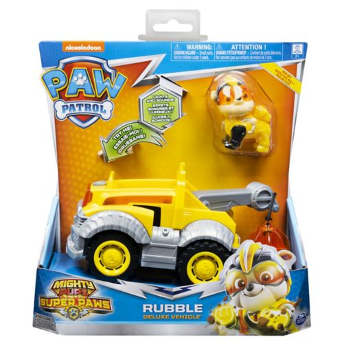 MIGHTY PUPS SUPERPAWS Themed Vehicle- Rubble