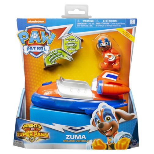 MIGHTY PUPS SUPERPAWS Themed Vehicle - Zuma