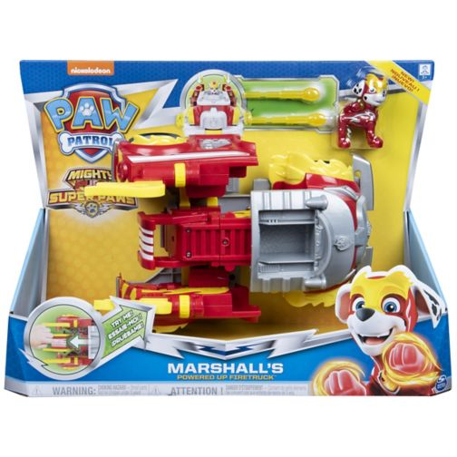 MIGHTY PUPS SUPERPAWS Powered Up Vehicles - Marshall