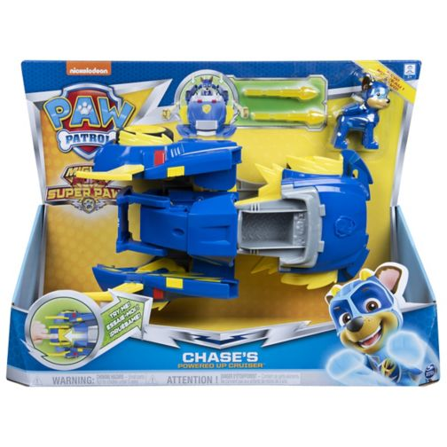 MIGHTY PUPS SUPERPAWS Powered Up Vehicles - Chase