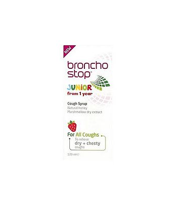 Bronchostop Junior Cough Syrup - 120ml