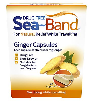 Seaband Ginger Capsules