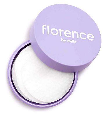 Florence By Mills One Swipe Glow Wipe Treatment Pads