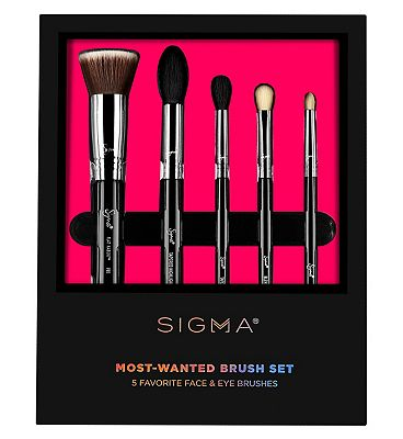 Sigma Beauty - Most Wanted Brush Set