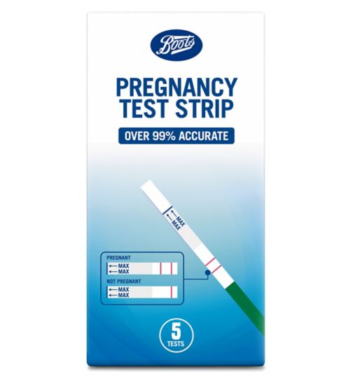 Boots Pregnancy Test Strips - 5 tests