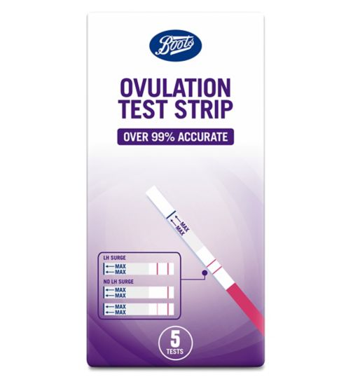 Boots Ovulation Test Strips - 5 tests