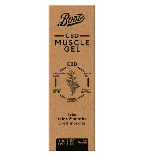 Boots CBD Muscle Gel