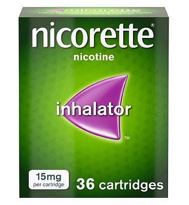 Nicorette 15mg Inhalator 36 Cartridges