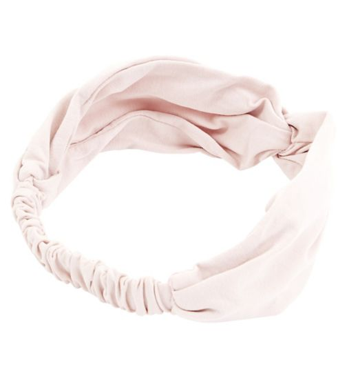 Boots Knot Headwrap Dusky Pink