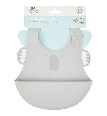 Image of Boots Baby Wipe Clean Bib