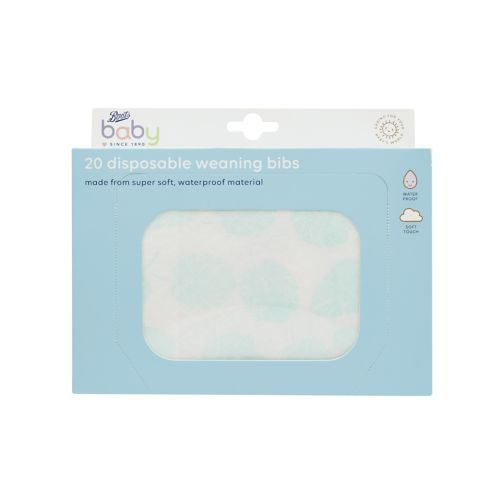 Boots Baby 20 Disposable Weaning Bibs