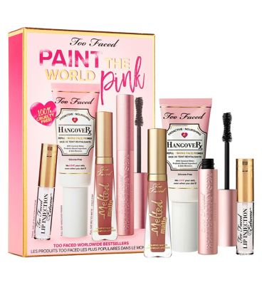 Too Faced Paint The World Pink Set by Too Faced