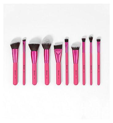 BH Cosmetics Sculpt and Blend Fan Faves - 10 Piece Brush Set