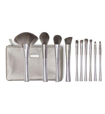 BH Cosmetics Smoke 'N Mirrors - 10 Piece Brush Set