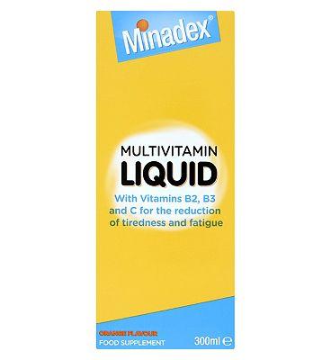 Minadex Multivitamin Liquid - 300ml