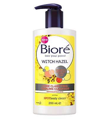 Bior Witch Hazel Pore Clarifying Cooling Cleanser For Spot Prone Skin 200ml
