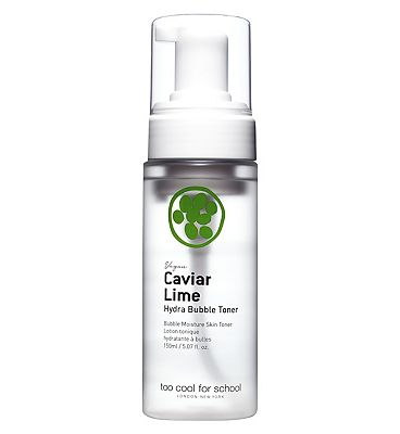 TOO COOL FOR SCHOOL CAVIAR LIME Hydra Bubble Toner Mist 150ml (100% Cruetly free & vegan incl packaging)