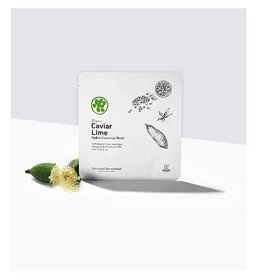 TOO COOL FOR SCHOOL CAVIAR LIME Hydra Essential Mask 20ml (100% Cruetly free & vegan incl packaging)