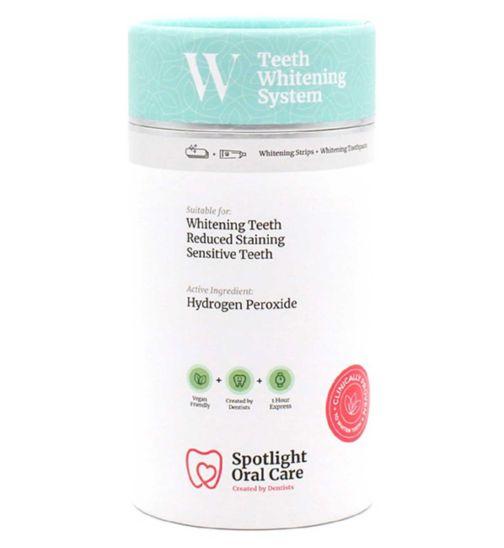 Spotlight Oral Care Teeth Whitening System strips
