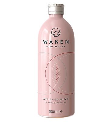 Waken Mouthwash AniseedMint 500ml