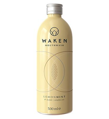 Waken Mouthwash LemonMint 500ml