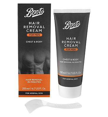 Image of Boots Mens Hair Removal Cream 200ml