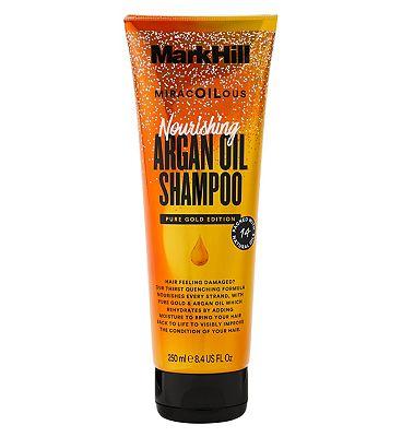 Mark Hill Miracoilous Pure Gold Edition Nourishing Argan Oil Shampoo 250ml