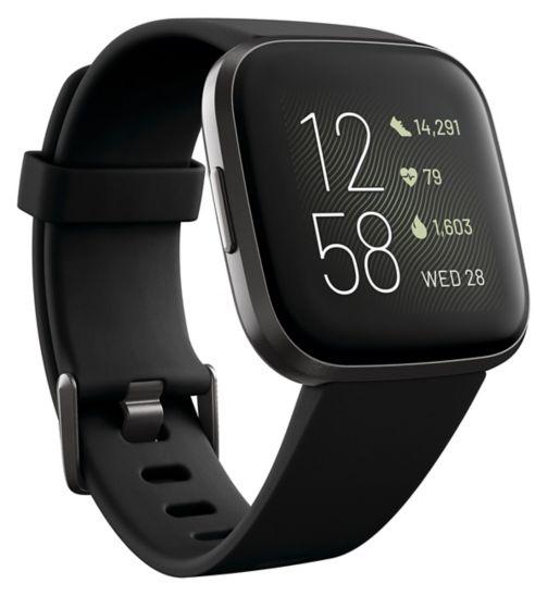 Fitbit Versa 2 - Black Carbon