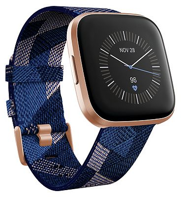 Fitbit Versa 2 - Special Edition Navy & Pink
