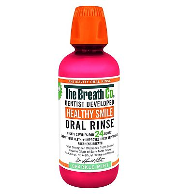 The Breath Co Healthy Smile Oral Rinse 500ml