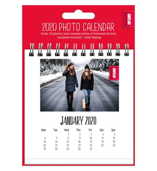 Shot2go mini calendar 2020