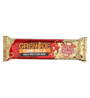 Grenade Carb Killa High Protein Bar White Chocolate Salted Peanut - 60g