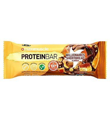 Maximuscle Millionaire Shortbread Protein Bar - 55g