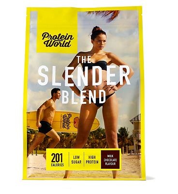 Protein World Slender Blend Milk Chocolate - 600g