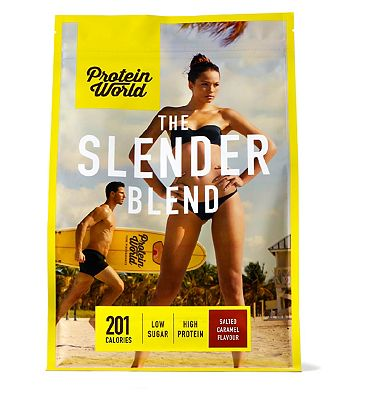 Protein World Slender Blend Salted Caramel - 600g