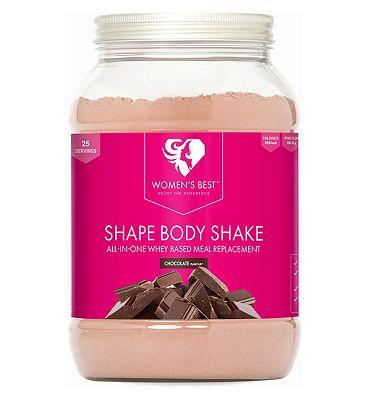Womens Best Shape Body Shake Chocolate Powder - 750g