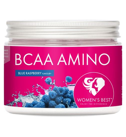 Womens Best BCAA Amino Blue Raspberry Powder - 200g