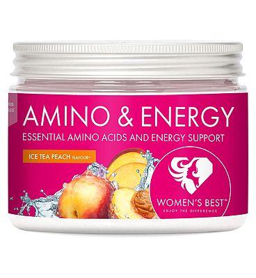 Womens Best Amino & Energy Ice Tea Peach Powder - 270g