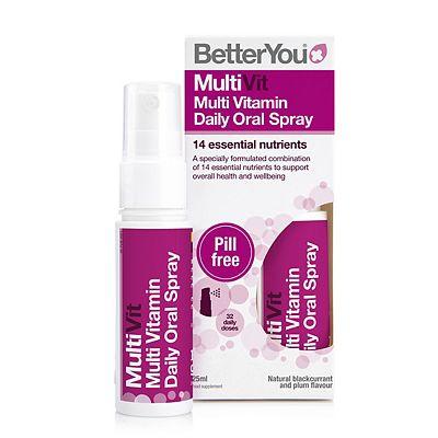 BetterYou Daily Multi Vitamin Oral Spray 25 ml