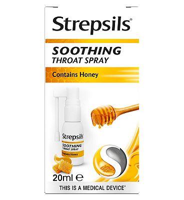Strepsils Soothing Throat Spray 20ML