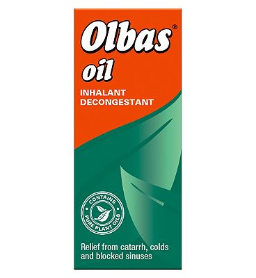 Olbas Oil Inhalant Decongestant 12ml