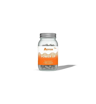 Motion Nutrition Day Time Nootropic Power Up 60 Vegan Capsules