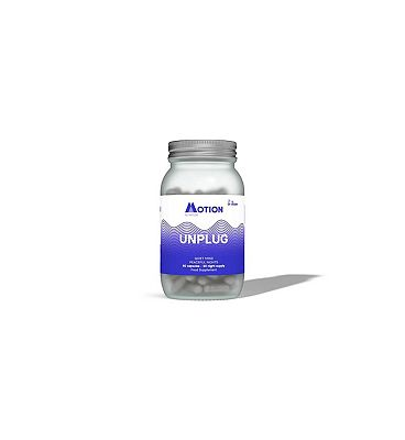 Motion Nutrition Night Time Nootropic Unplug 60 Vegan Capsules