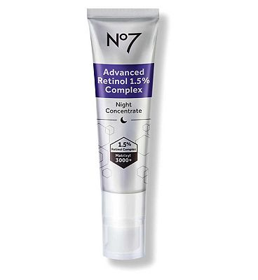 Image of No7 Advanced Retinol 1.5% Complex Night Concentrate