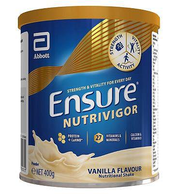 Ensure Nutrivigor Shake Vanilla - 400g