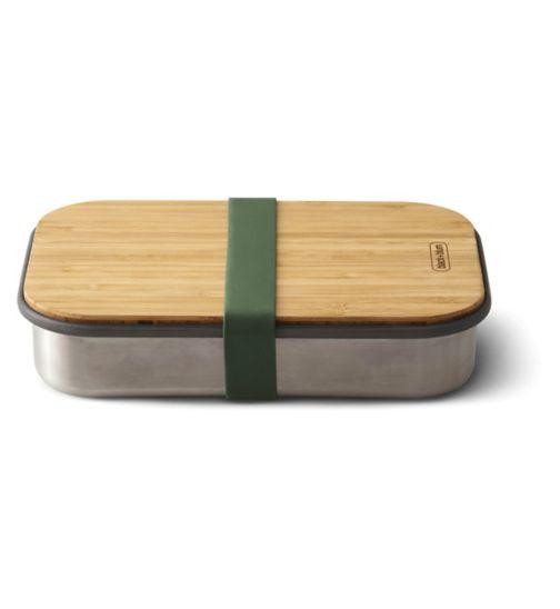 Black + Blum Steel Sandwich Box Olive - 900ml